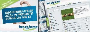 Bet At Home Slovenija - blokada
