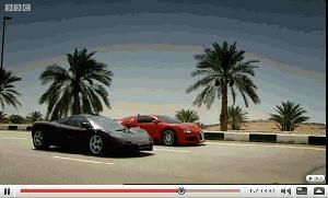 Bugatti Veyron vs McLaren F1