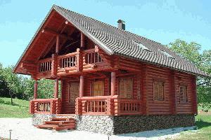 Stanovanjske hiše iz masivnega lesa